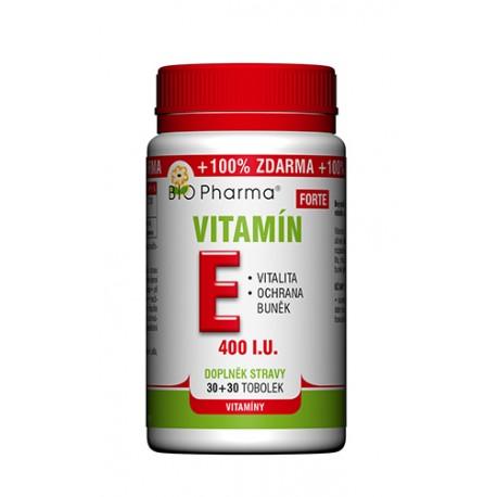 Vitamín E Forte 400 I.U. 30+30 tobolek
