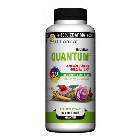QUANTUM Imunita+ 32 složek 90+30 tablet