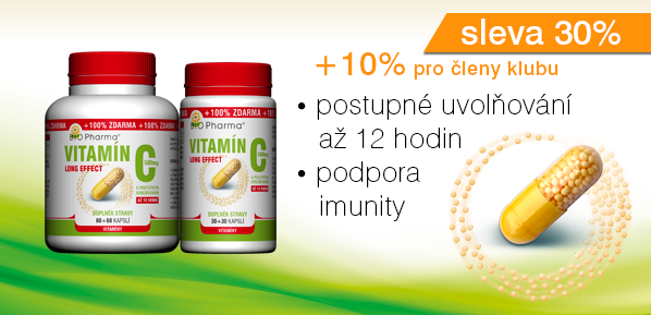 Vitamínu C 500mg long effect